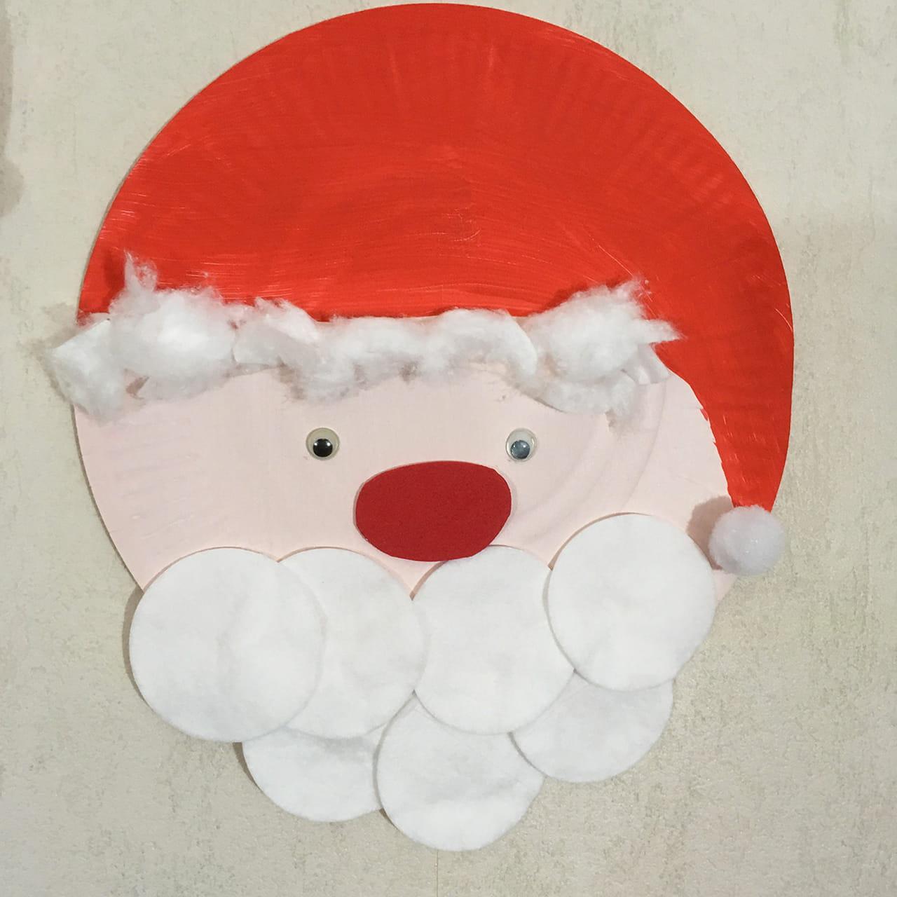 Père Noël En Assiettes Video