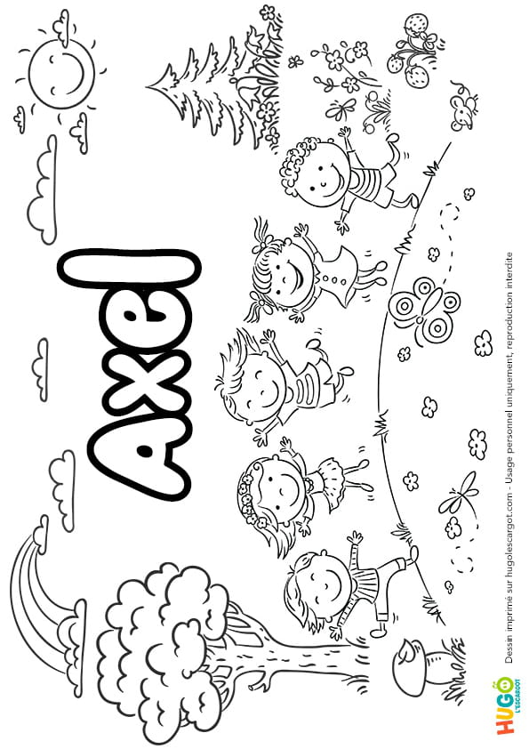 Axel prénom de garçon version4