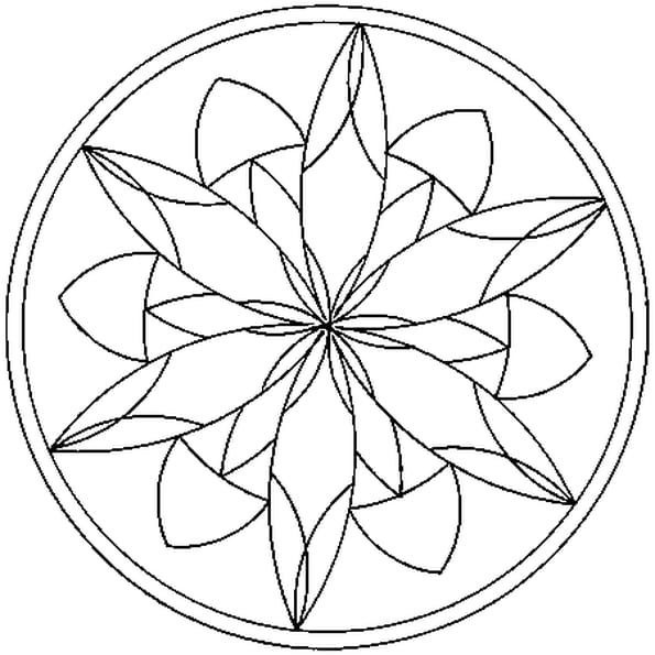 Coloriage mandalas en ligne gratuit imprimer - Mandala a imprimer gratuit ...
