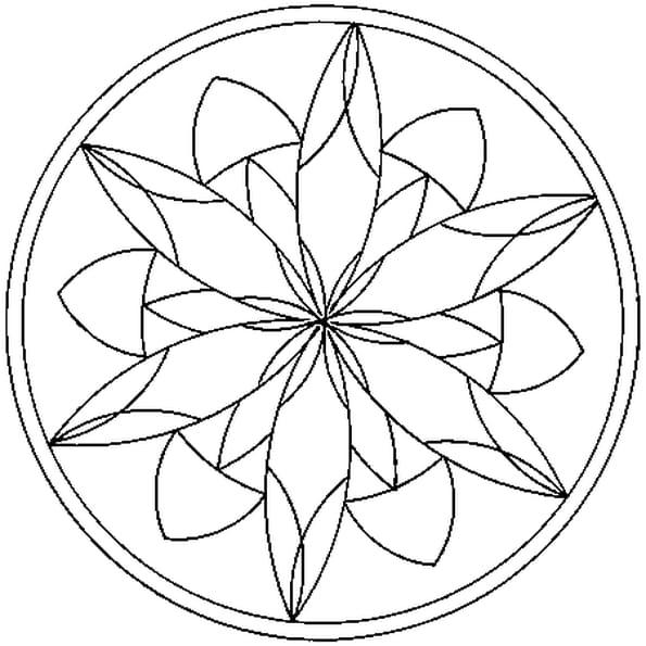 Coloriage Gratuit Imprimer Mandala.Coloriage Mandalas En Ligne Gratuit A Imprimer