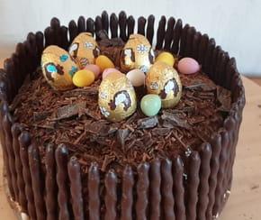 Gâteau nid de Pâques [VIDEO]