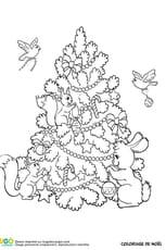 Le sapin de Noël des animaux