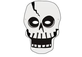 Masque de Squelette pour Halloween