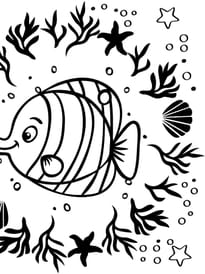 Mandala de poisson