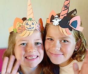 Tour de tête Licorne pour Halloween [VIDEO]