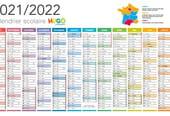 Calendrier des vacances scolaires 2021-2022à imprimer
