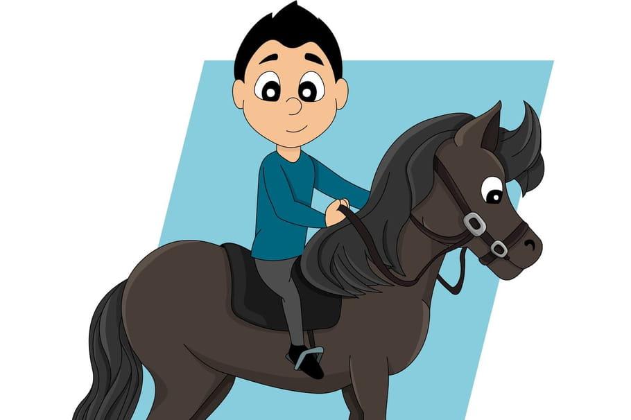 Comptine Quand le cheval de Thomas tomba