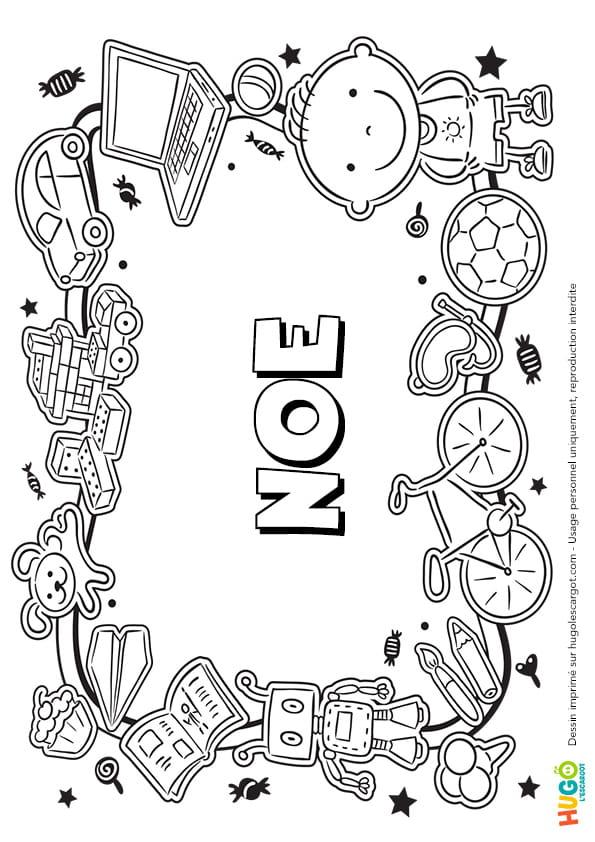 Noé prénom de garçon version3