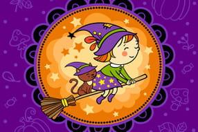 Coloriages Sorcière Halloween