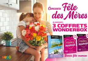 Concours Wonderbox fête des Mères