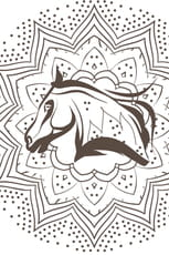 Coloriage Mandala cheval