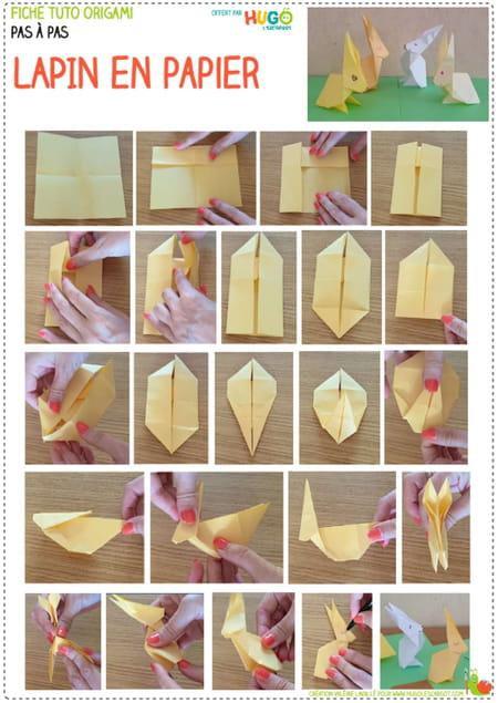 comment-fabriquer-un-origami-lapin