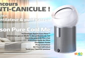 Concours anti-canicule Dyson Pure Cool Me