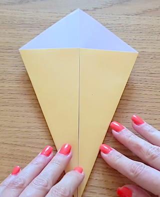 Etape 2: former le cône de la glace
