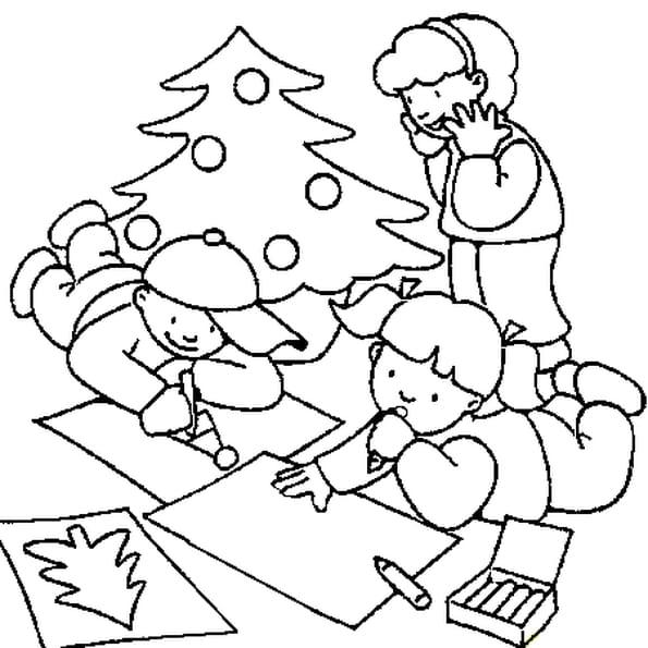 Coloriage dessin de no l en ligne gratuit imprimer - Dessin de noel en ligne ...