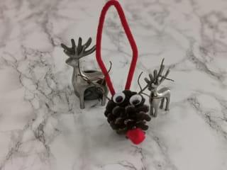Étape 5: Votre renne de Noël en pomme de pin est terminé