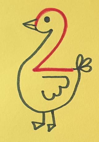Apprendre à dessiner avec le chiffre 2