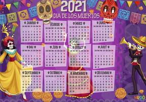 Dia de Los Muertos: calendrier 2021