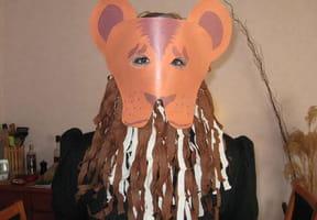 Masque Lion