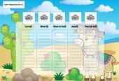 Planning enfant: le lama