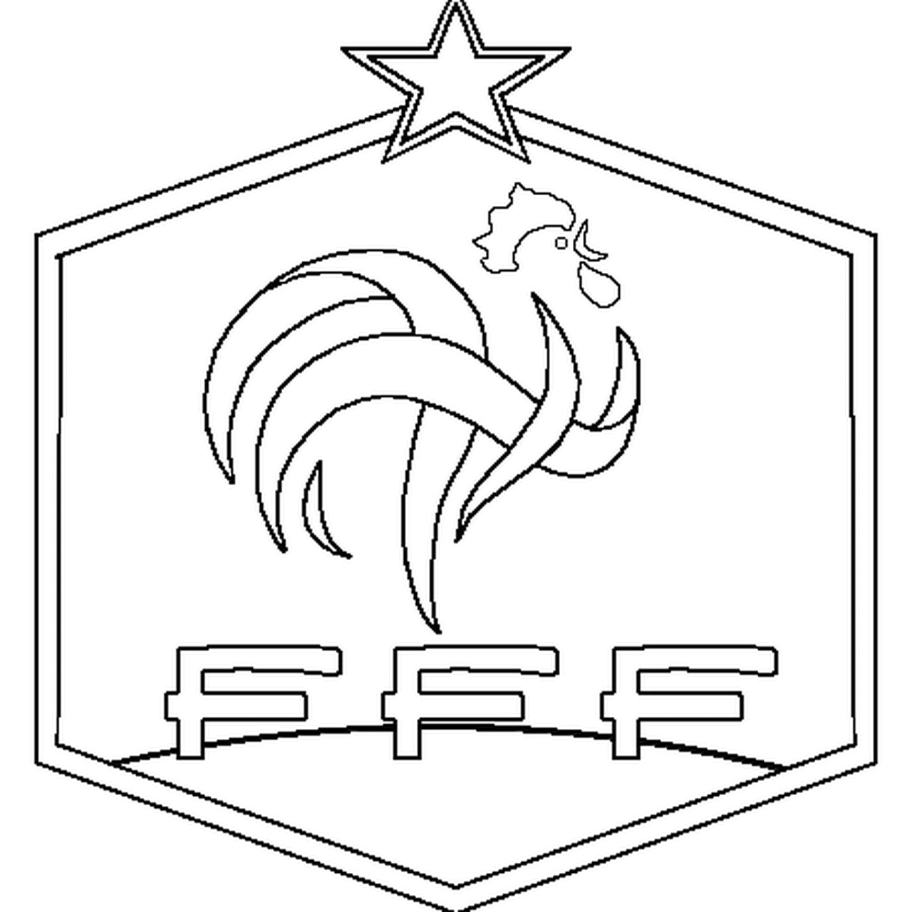 Coloriage France Football En Ligne Gratuit à Imprimer