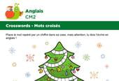 Mots croisés en Anglais sur le thème des cadeaux de Noël