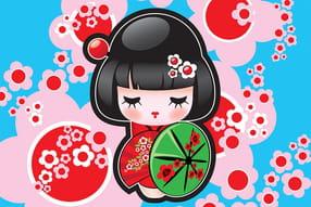Poupées japonaises Kokeshi