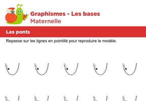 Les bases du graphisme, les ponts niveau 3