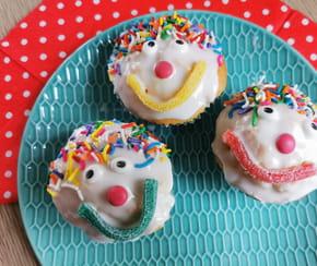 Cupcake Clown: Une recette originale pour les enfants