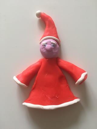 Etape 4: les bras du Père Noël