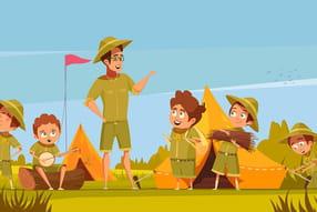 Sur les scouts