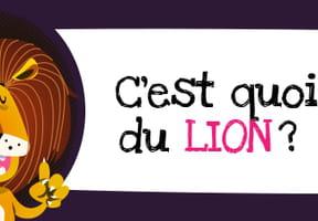 C'est quoi le signe du lion?
