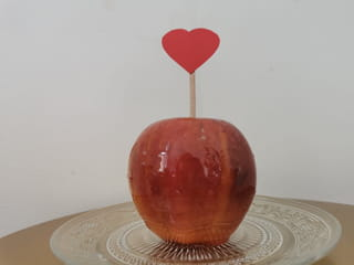 Votre pomme d'Amour est terminée