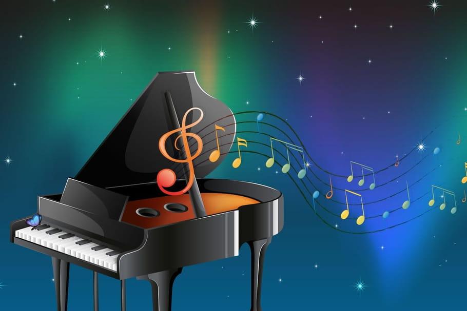 Comptine La soirée du pianiste