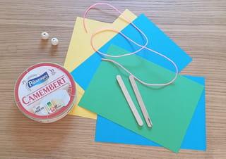 Fabriquer un tambourin en carton: quel matériel?