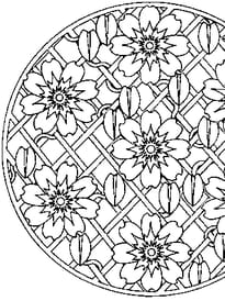 Mandala de fleur