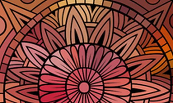 Coloriage rosace sur - Dessiner des rosaces ...