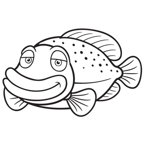 Poisson plat coloriage poisson plat en ligne gratuit a - Dessin poisson ...