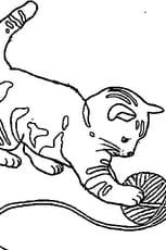 Coloriage Bébé chat