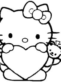 hello kitty coeur