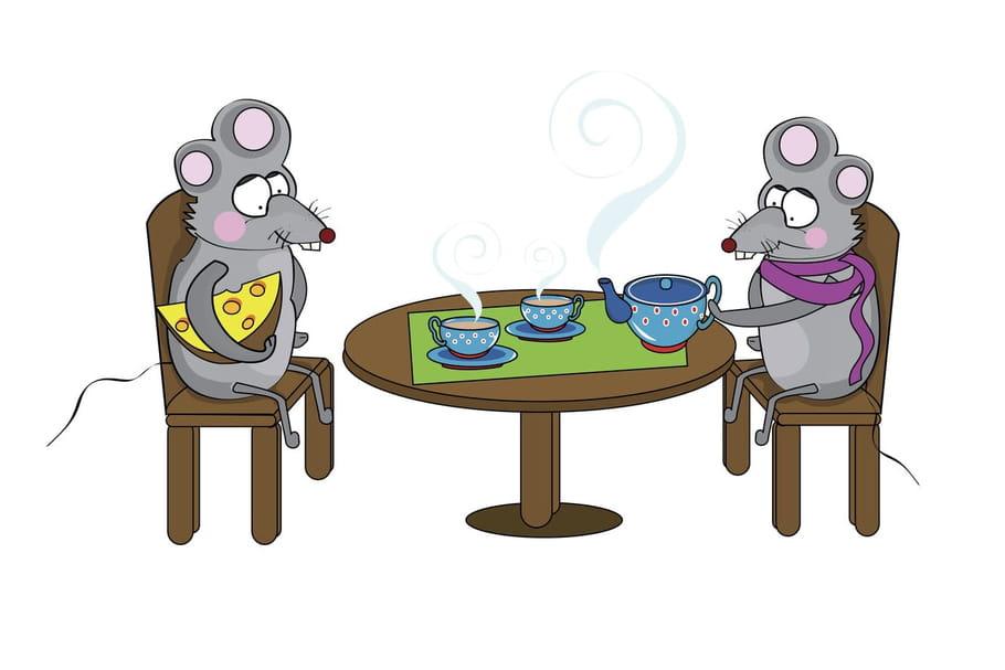 Comptine Le rat de ville