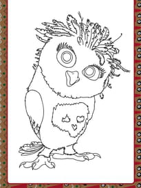 Coloriage Hugo Lescargot Hibou.Coloriage Chouette Hibou Sur Hugolescargot Com