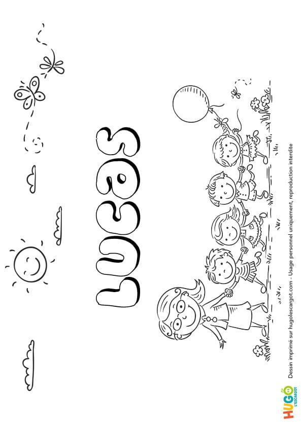 Lucas prénom de garçon version2
