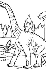 Coloriage Dinosaure pas content