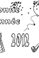 Coloriage 2012 en Ligne Gratuit à imprimer