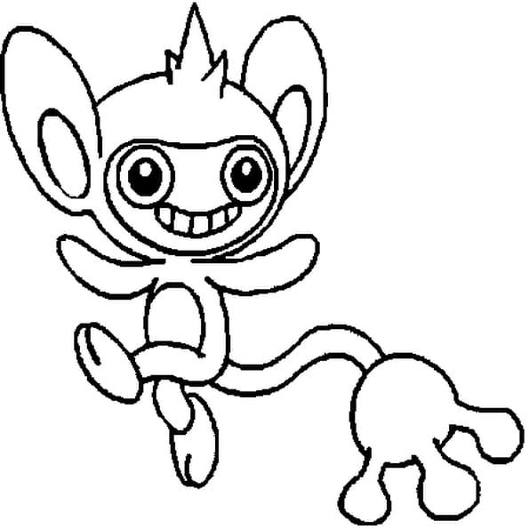 Coloriage Pokémon Capumain
