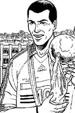 Coloriage de Zidane en Ligne Gratuit à imprimer