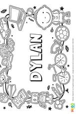 Dylan prénom de garçon version3