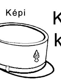 lettre K comme képi