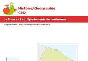 La France, exercices sur les départements de l'outre-mer
